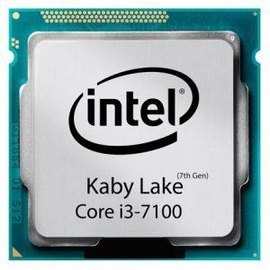 سی پی یو اینتل Core i3-7100