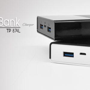 پاور بانک tsco مدل TP 874L با ظرفیت 20000 میلی امپری(مشکی)