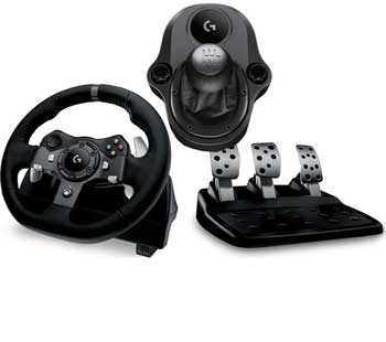 گیم پد لاجیتک Steering Wheel G920 USB