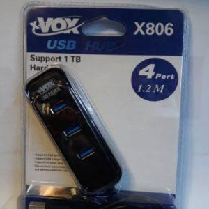 هاب xVOX USB مدل X801