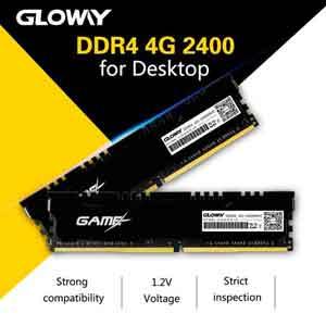 رم دسکتاپDDR4 گلووی 2400MHZ مدل STK ظرفیت 4گیگ