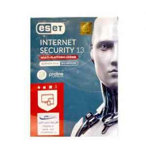 آنتی ویروس ایست 4کاربره یک اینترنت سکیورتی 13
