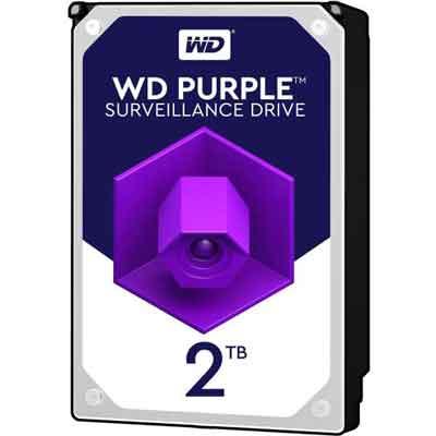 هارد دیسک اینترنال وسترن دیجیتال بنفش دو ترابایت