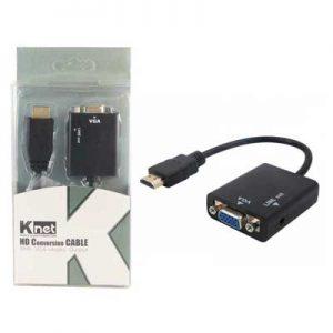 مبدل HDMI به VGA کی نت HD Conversion