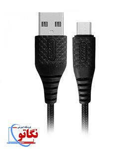 کابل تبدیل USB به microUSB بیاند BA-307 طول 2 متر
